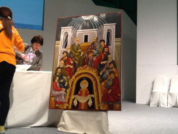 Main Icon at Opening Worship at World Council of Churches