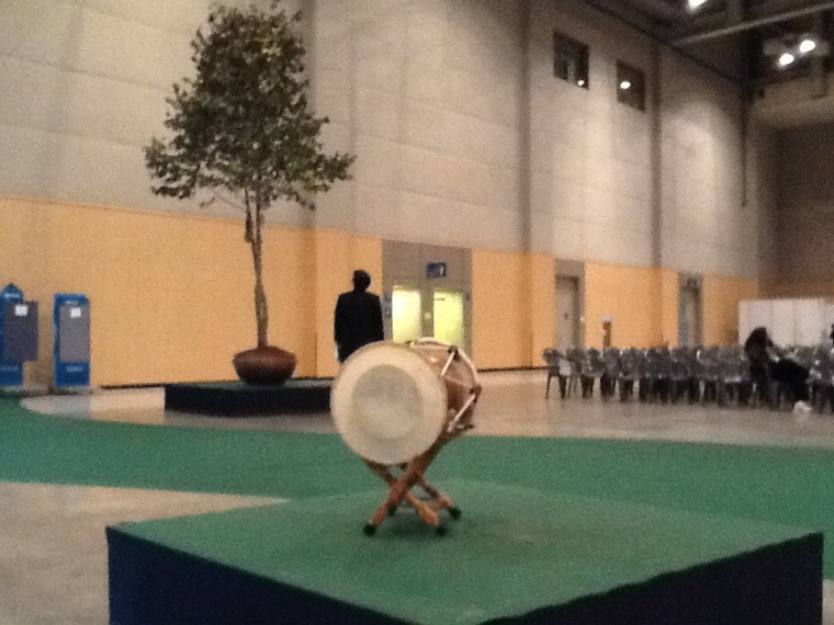 World Council of Churches: Worship Images - Stations 1 and 2 (Tree of Life and Drum)